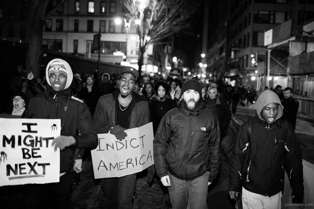 Julian Walter Photography - Eric Garner Protest