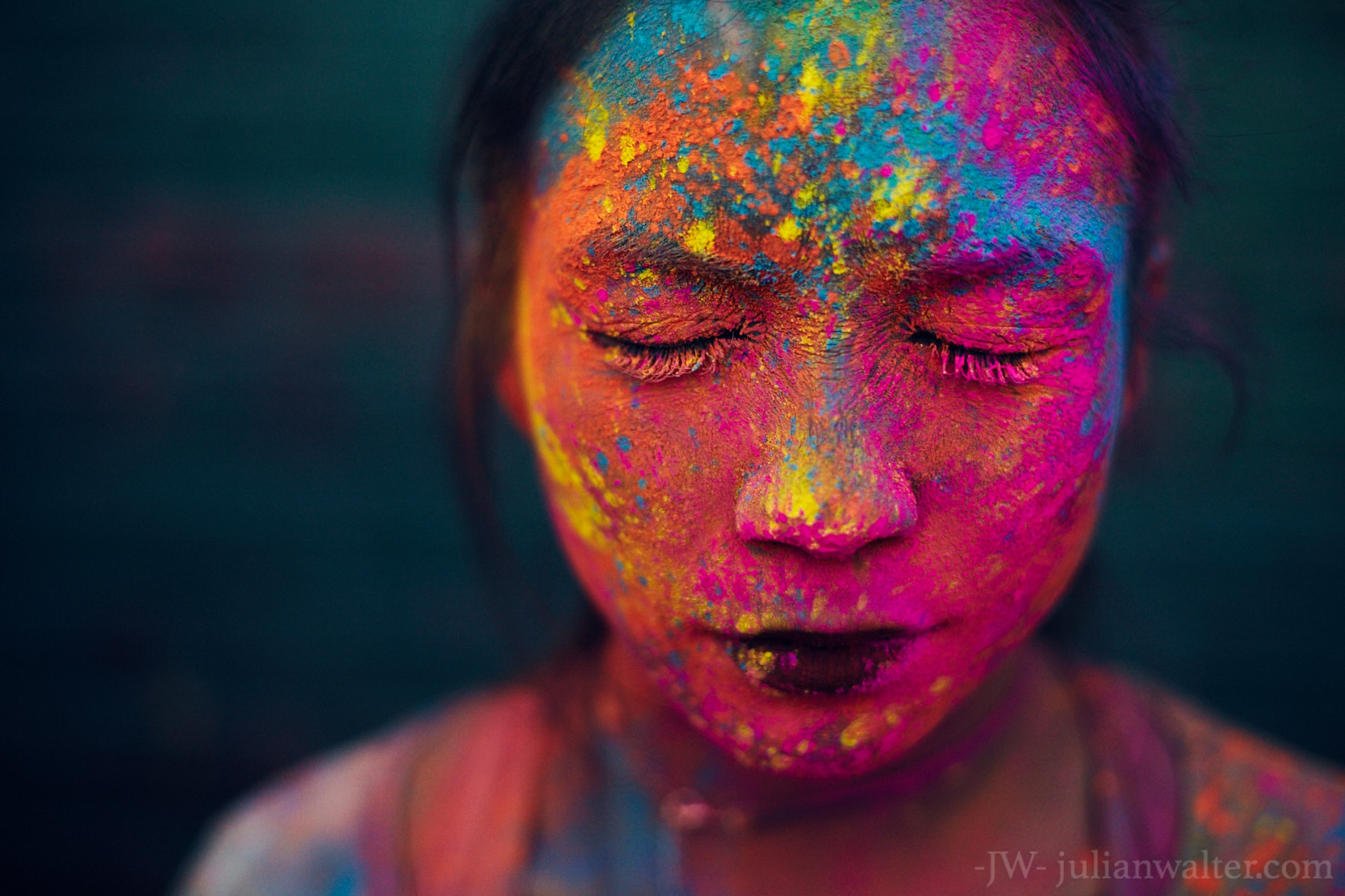 Holi Festival Brooklyn NYC - Julian Walter Photography