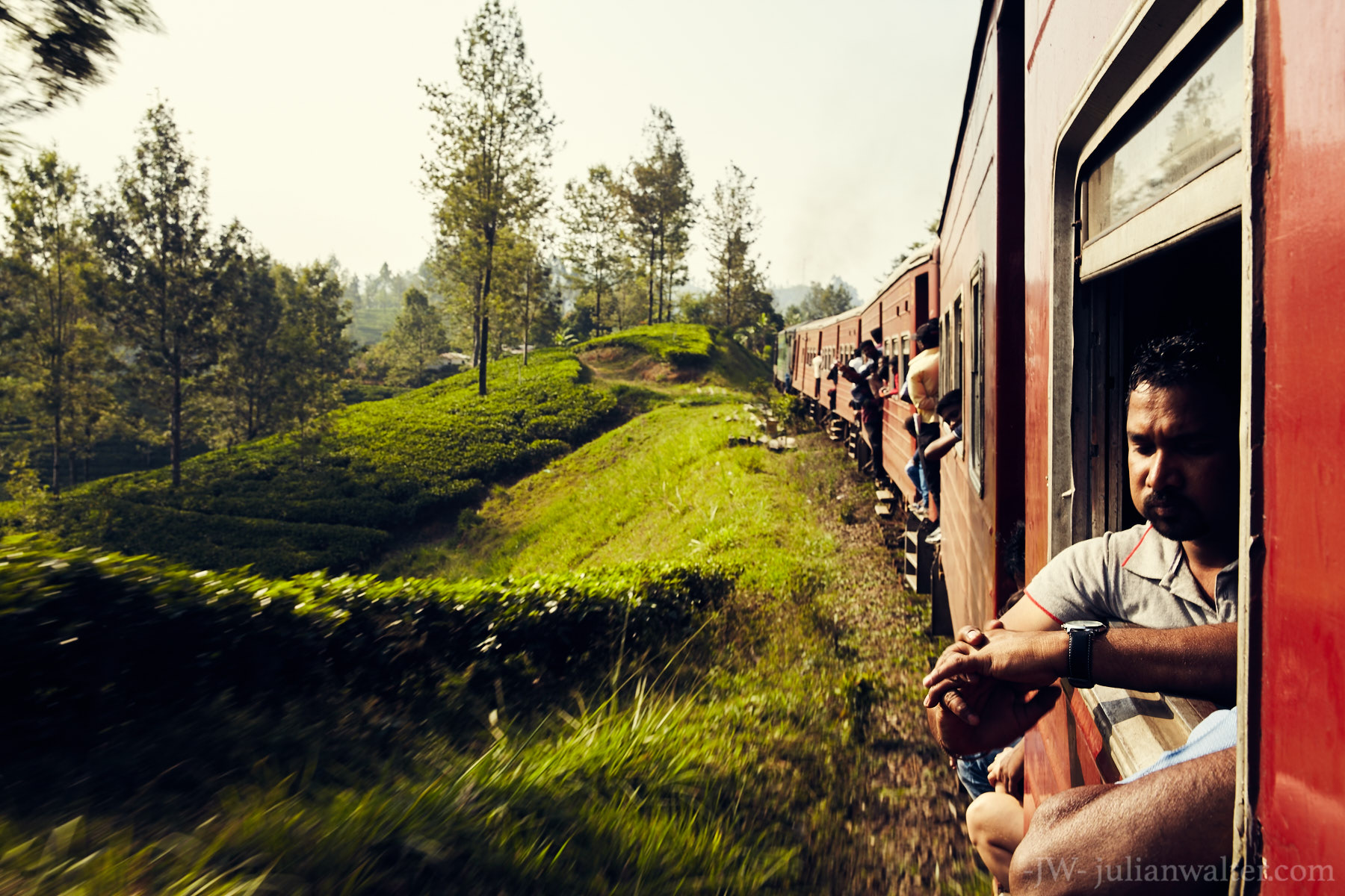 Sri Lanka Trains - Julian Walter Photography