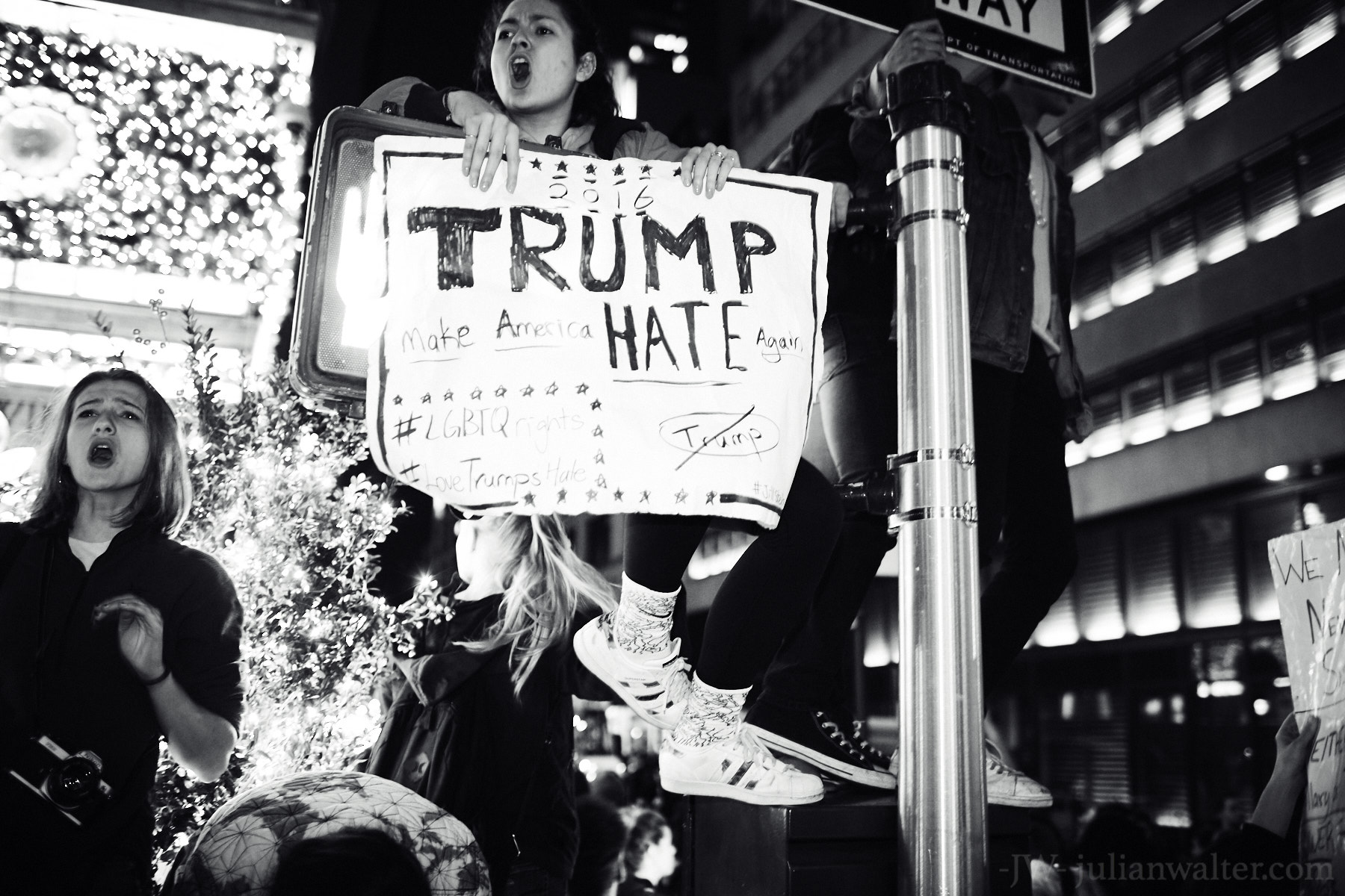 Julian Walter Photography - Donald Trump Election Protest